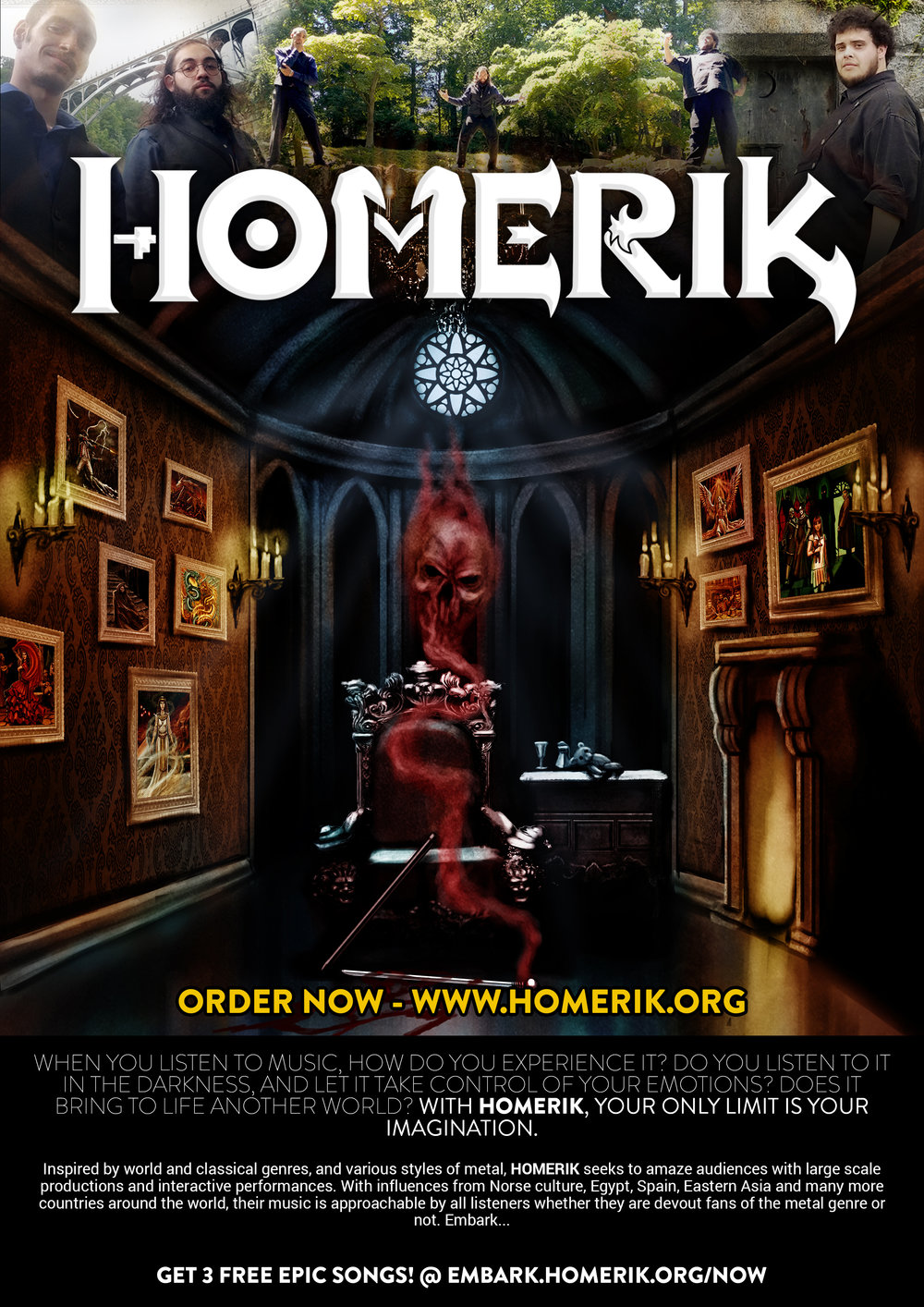Homerik's  advertisement inside issue 46, page 110 of  Stencil Magazine  ( UK ).