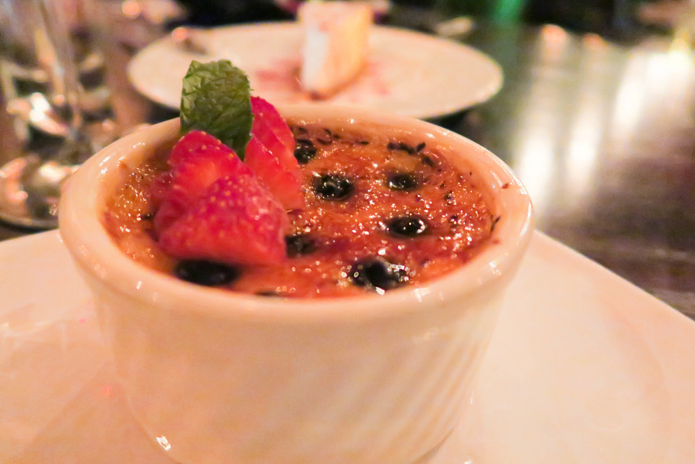 My favorite dessert ever, this brulée was the crème de la crème.