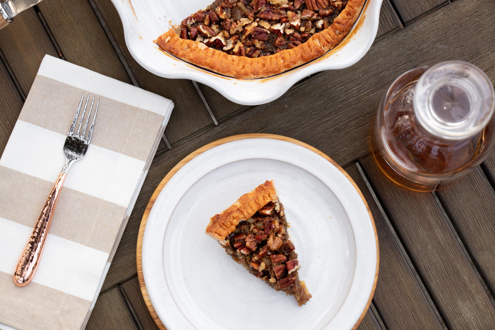 Fall_Thanksgiving Dessert_First Prize Pies_Maple Bourbon-Ginger Pecan Pie