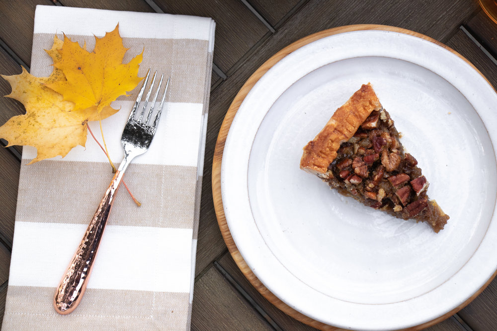 Fall_Thanksgiving Dessert_First Prize Pies_Manple Bourbon-Ginger-Pecan Pie Slice