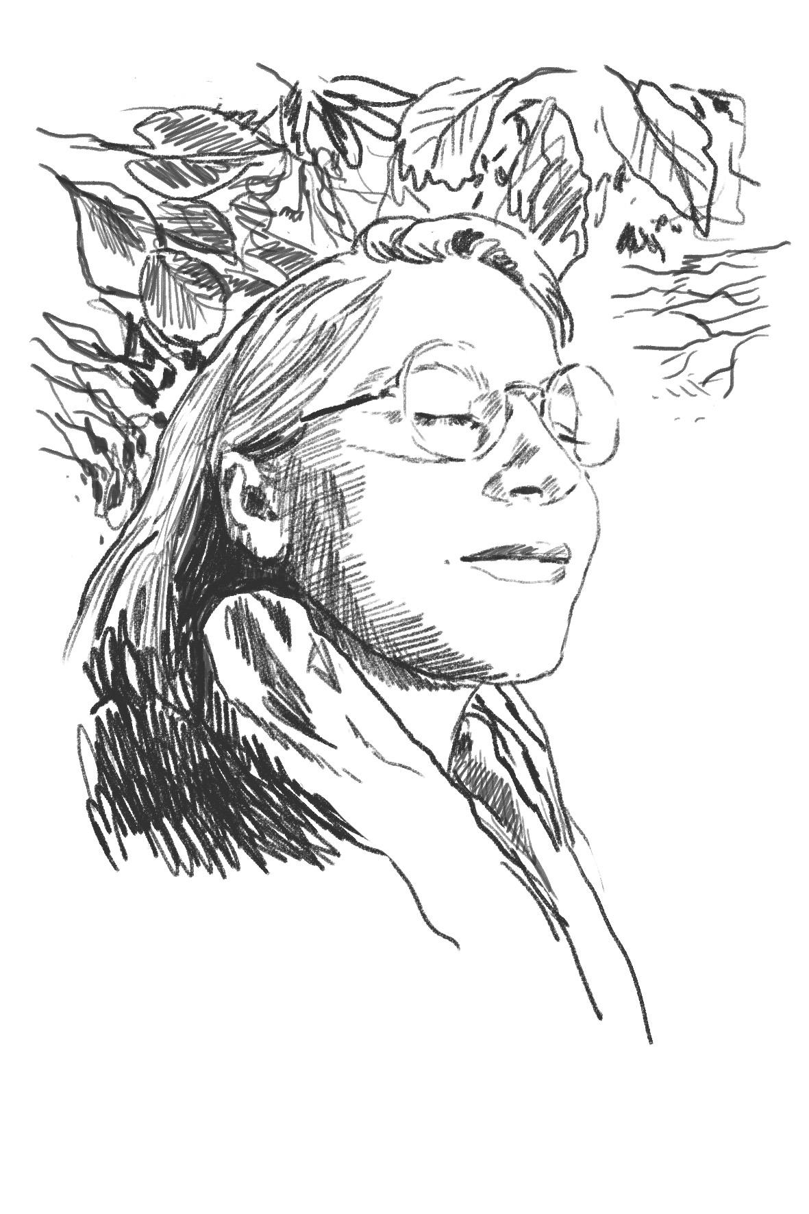 Porträtt av Jenny Wiik