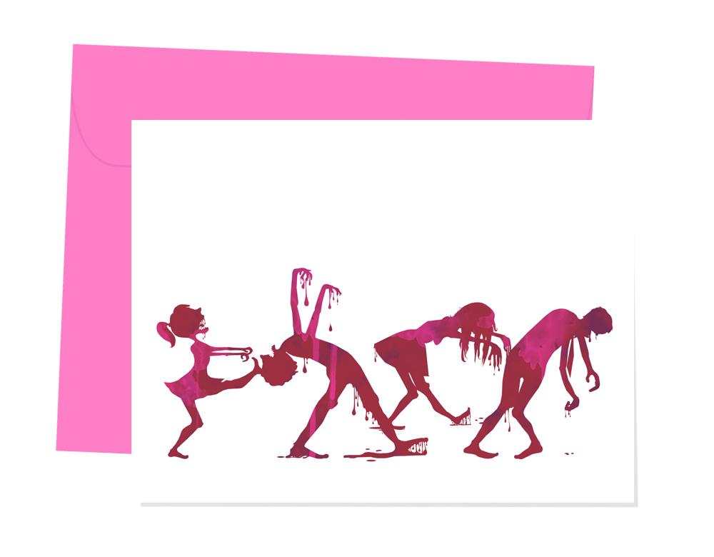 Zombie Parade, A2 card