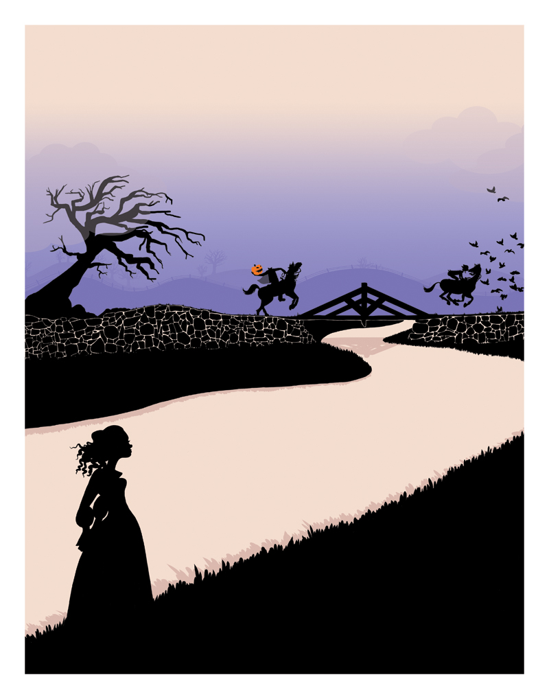 Sleepy Hollow, art print