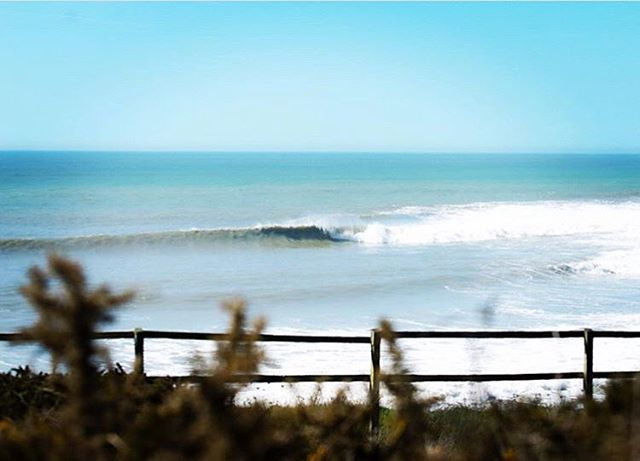Backyard barrels.🏄🏼‍♀️ #surf #theactiveisland #isleofwight #home #fitforfunction #bebeach pic: @courtintheact