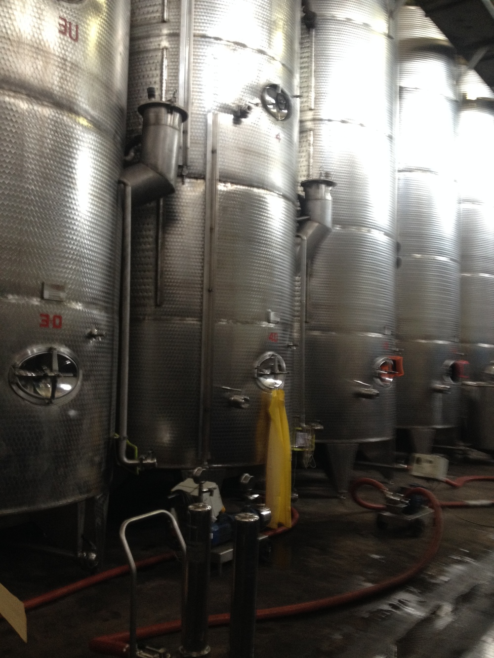 Stainless steele vats