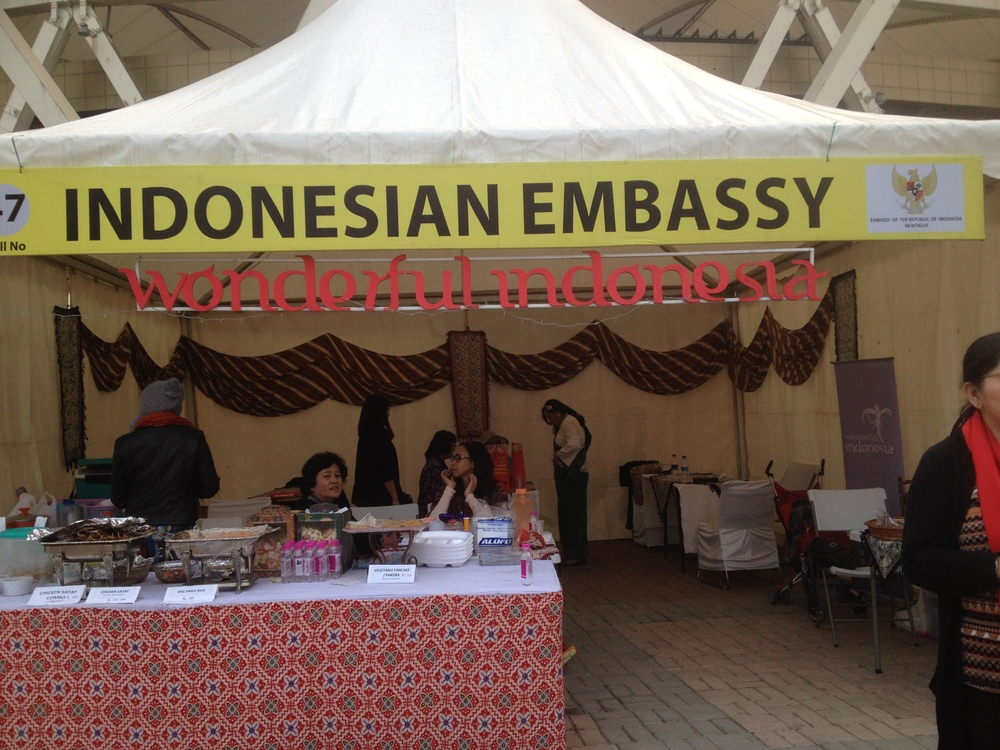 Indonesian Embassy Stall