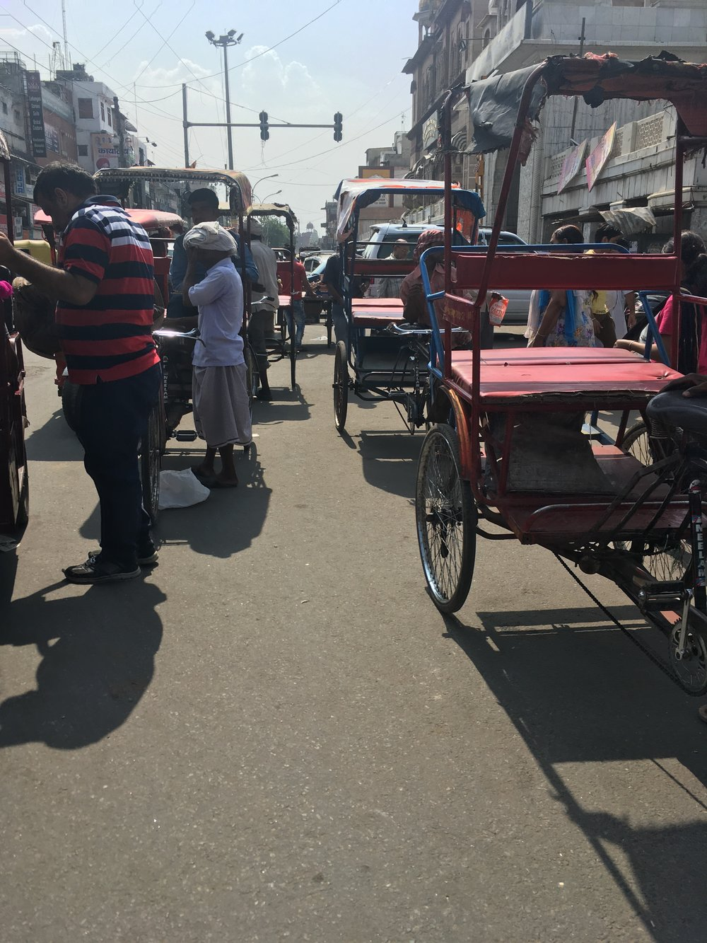 Old Delhi and Khari Baoli are crowded!
