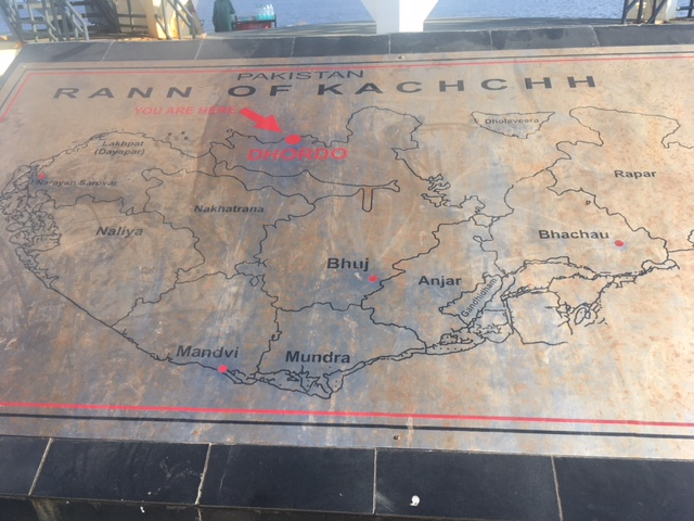 Map of Kutch/ Kachchh
