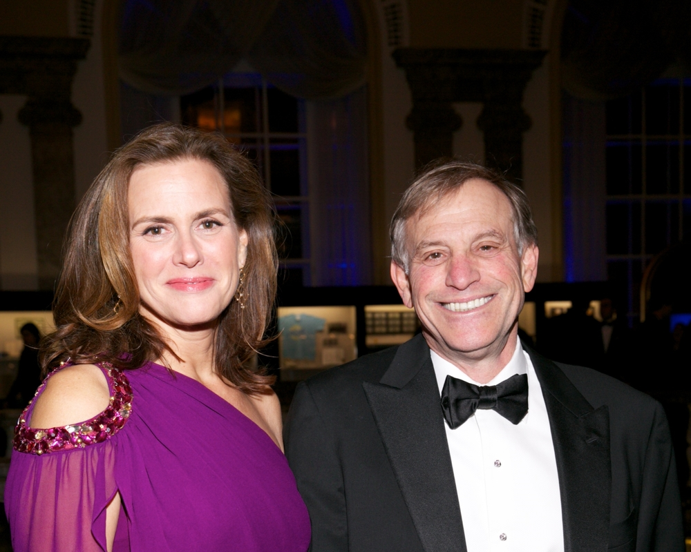 Deborah and Peter Lamm © 2014 Julie Skarratt Photography Inc./U.S. Fund for UNICEF
