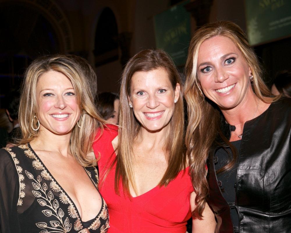 Monique O'Connell, Christie Manning, and Marjolein Steenbergen © 2014 Julie Skarratt Photography Inc./U.S. Fund for UNICEF