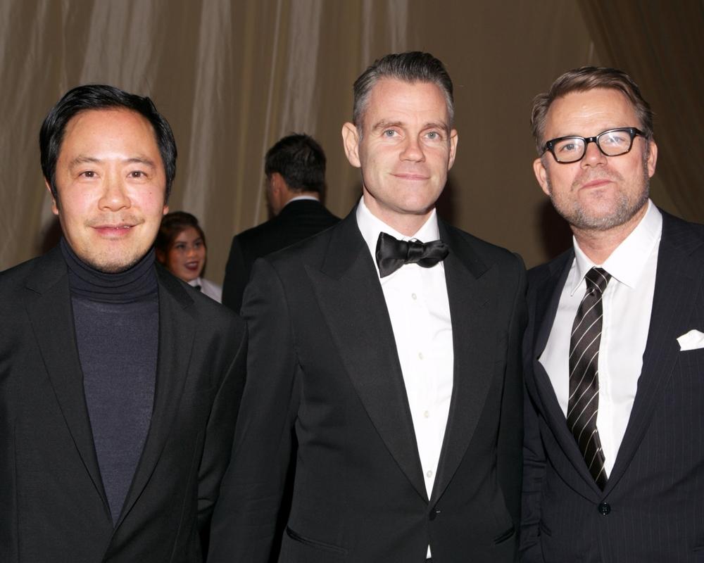 Derek Lam, James Scully, and Jan-Hendrik Schlottmann © 2014 Julie Skarratt Photography Inc./U.S. Fund for UNICEF
