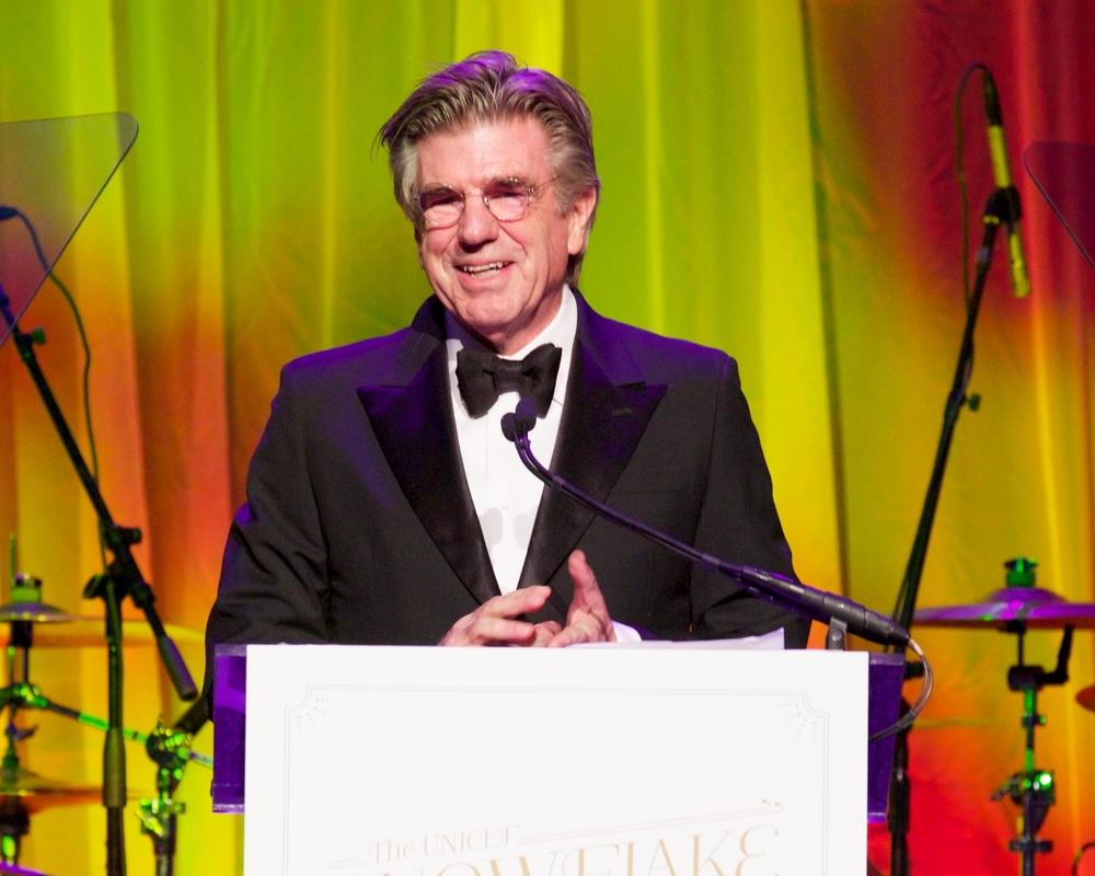 Tom Freston, Recipient of the 2014 Spirit of Compassion Award © 2014 Julie Skarratt Photography Inc./U.S. Fund for UNICEF