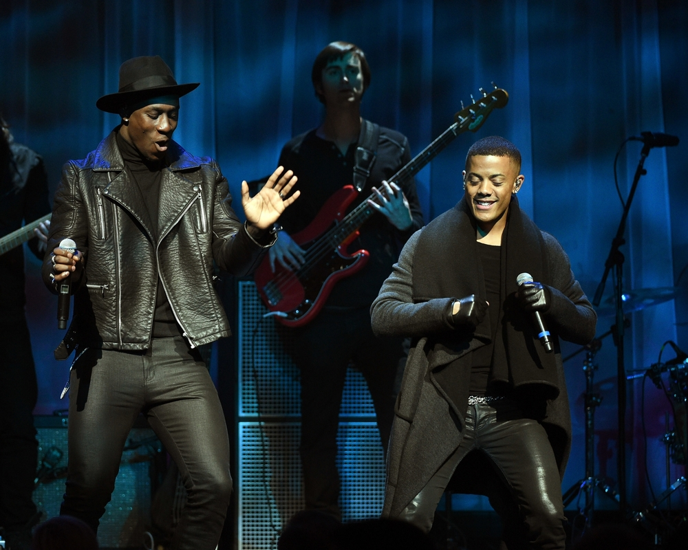 Nico & Vinz perform at the 2014 UNICEF Snowflake Ball ©2014 Bryan Bedder/Getty Images for UNICEF