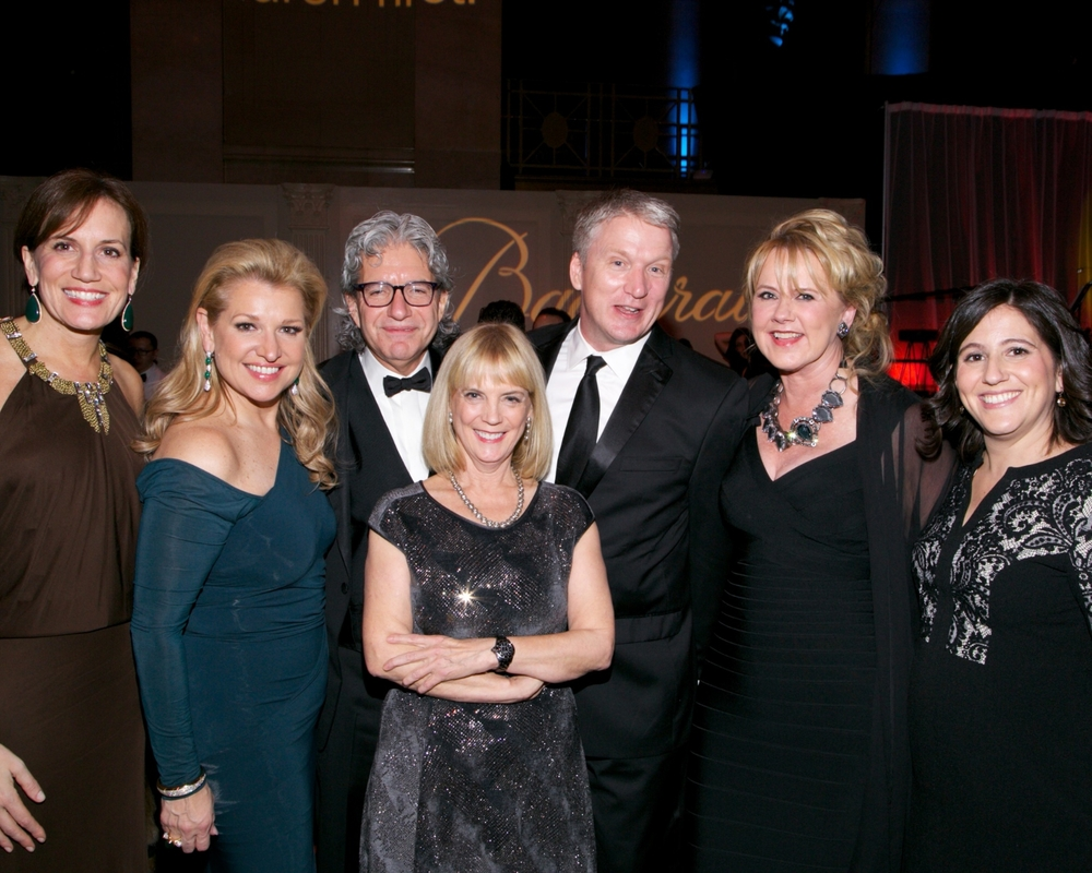 Daniella Vitale, Mindy Grossman, David Sable, Carol Hamilton, guest, Deborah Bothun and Michelle Walsh © 2014 Julie Skarratt Photography Inc./U.S. Fund for UNICEF