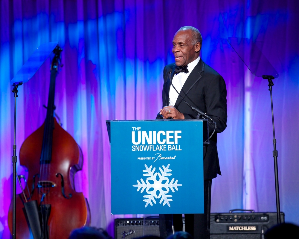 UNICEF Goodwill Ambassador Danny Glover