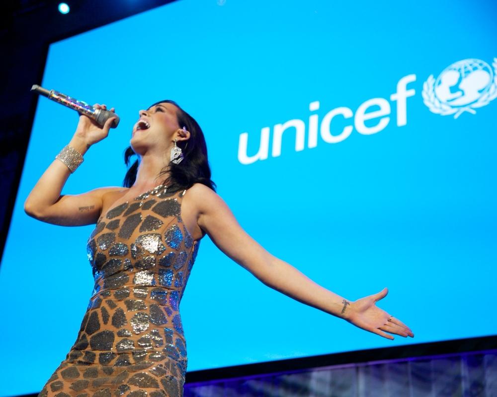 UNICEF Goodwill Ambassador Katy Perry