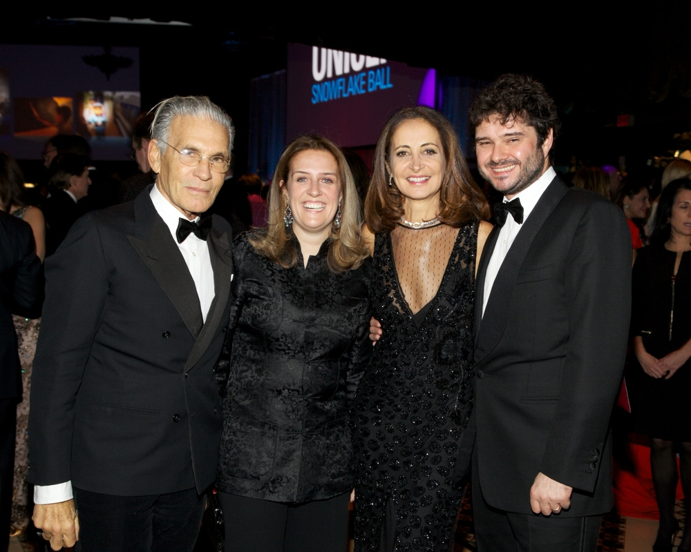 Chairman of the Audrey Hepburn Children's Fund Luca Dotti with guests