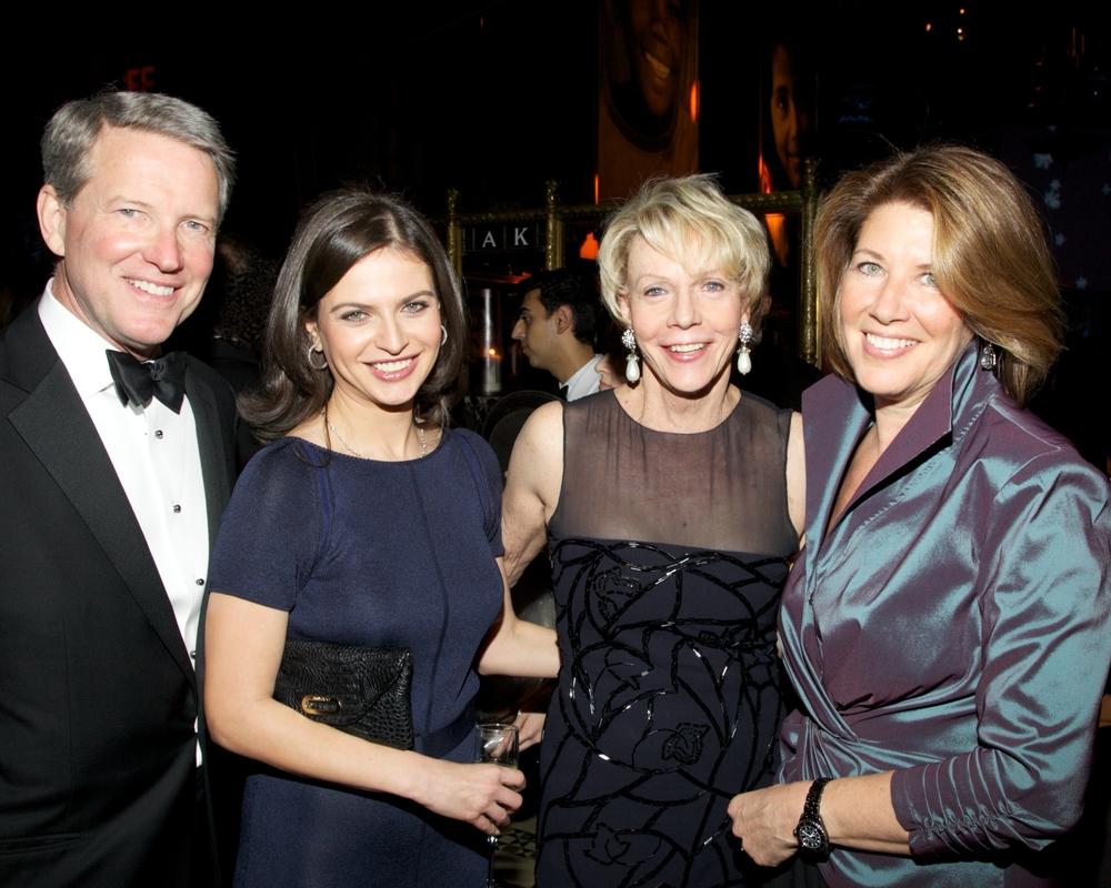David Westin, Guest, Cathie Black, Sherrie Westin