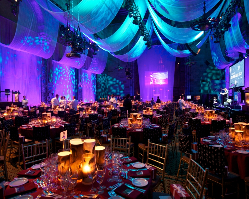 Décor designed by UNICEF Ambassador Vern Yip