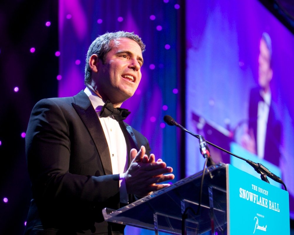 Andy Cohen ©2011 Julie Skarratt Photography, Inc./U.S. Fund for UNICEF