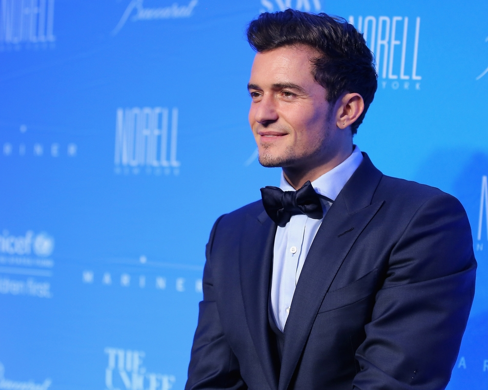 UNICEF Goodwill Ambassador and Audrey Hepburn Humanitarian Award Recipient Orlando Bloom ©2015 Jemal Countess/Getty Images for UNICEF