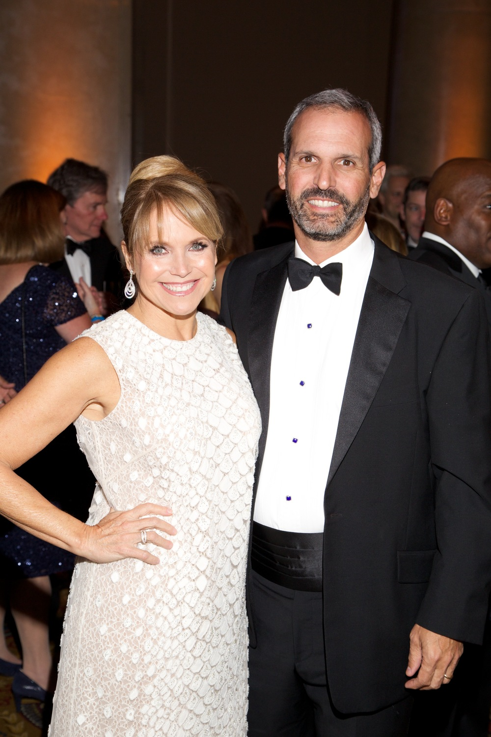 Katie Couric and John Molner ©2015 Julie Skarratt Photography, Inc./U.S. Fund for UNICEF