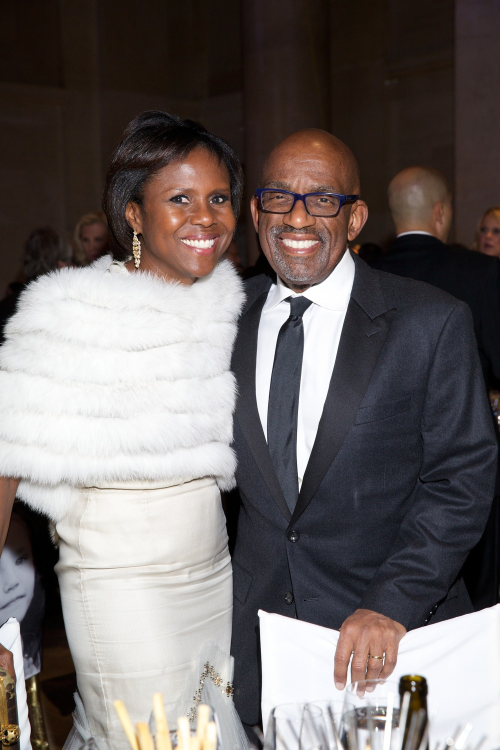 Deborah Roberts and Al Roker ©2015 Julie Skarratt Photography, Inc./U.S. Fund for UNICEF