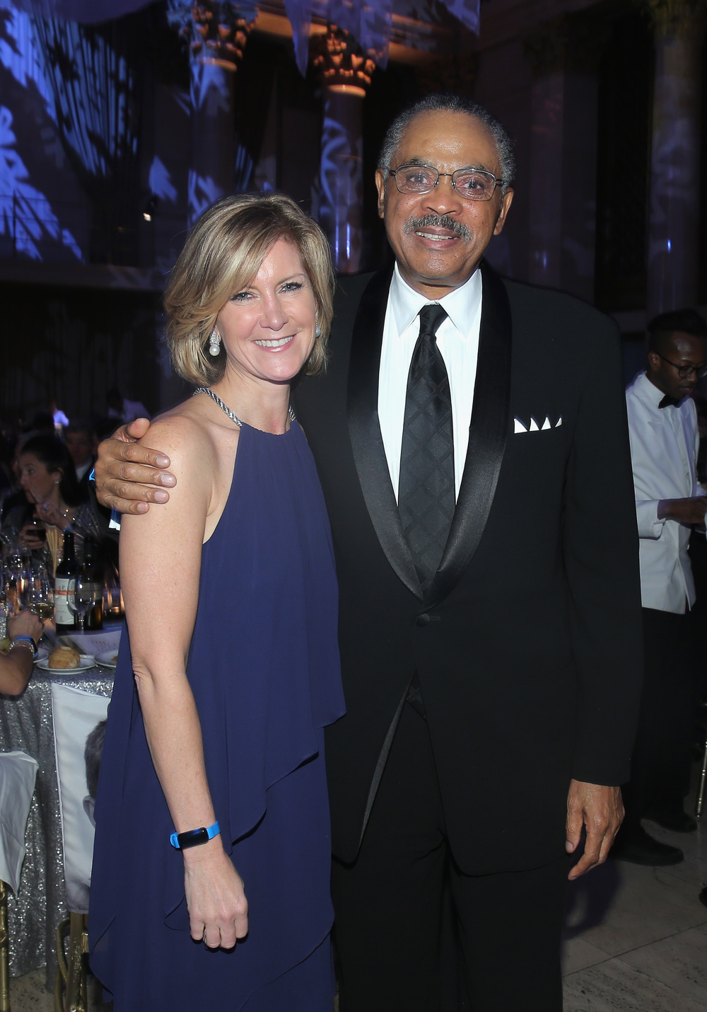 Mary Erdoes and COO & CFO, U.S. Fund for UNICEF Edward G. Lloyd ©2015 Jemal Countess/Getty Images for UNICEF