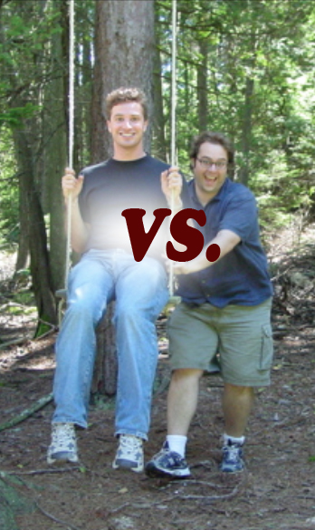 COMING… MAY 2ND. JIM VS. NATE. UCB THEATER.