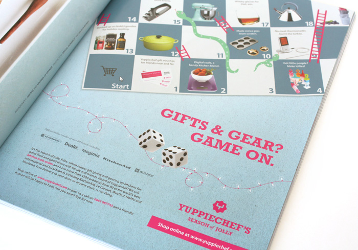 Yuppiechef - Festive Season Print Ad