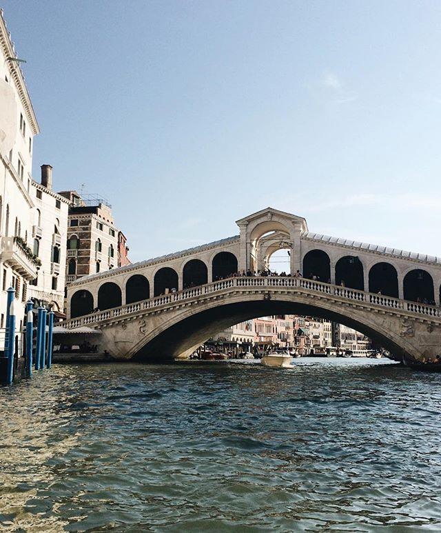 🇮🇹 The Rialto Bridge, Venice, July 2017