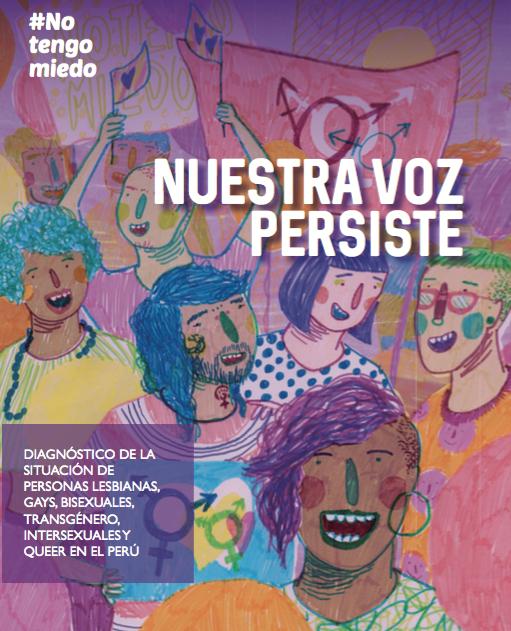 NUESTRA VOZ PERSISTE, 2016    Investigación nacional elaborada por NTM sobre la situación de las personas LGBTIQ 2015-2016