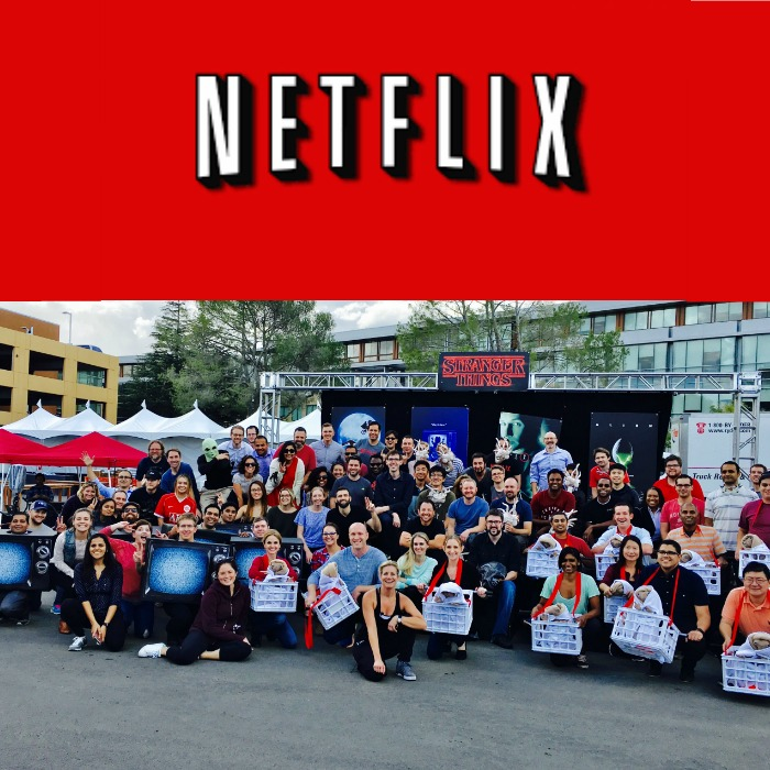 Molly is the choreographer & producer for Netflix Headquarter's quarterly performance & review. It is the best job in the world!