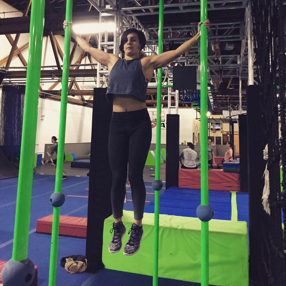 """KATIE VILLACRESS NINJA NAME: K-BEAST Tribe Roles: Event Coordinator, Freestyle Team Athlete,Marketing Team IG: @kvilla928 """"One reason people resist change is because they focus on what they have to give up instead of what they have to gain."""""""
