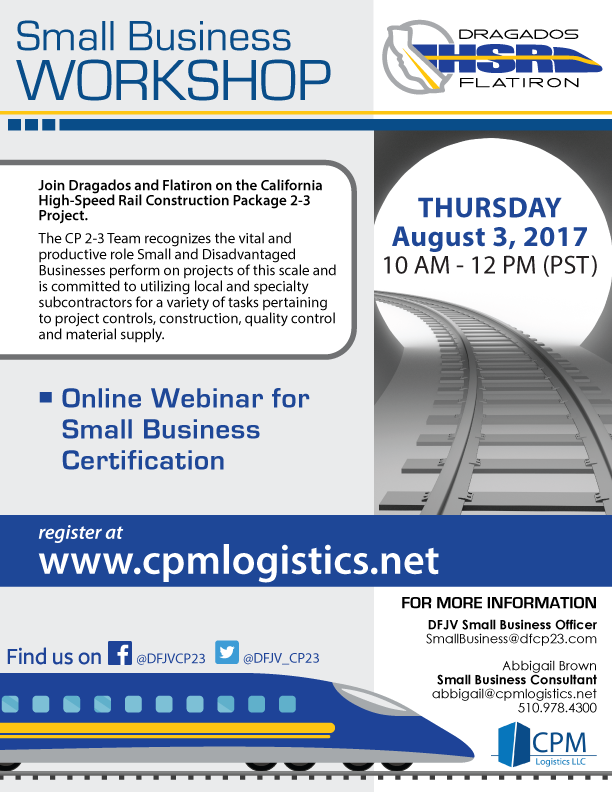 Dfjv Cp 2 3 Small Business Certification Webinar Cpm Logistics