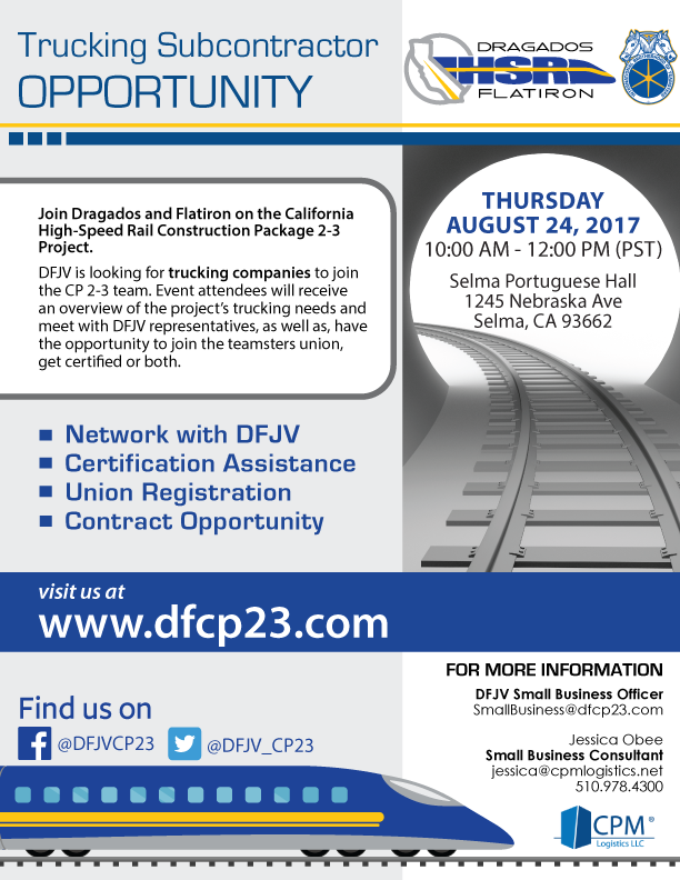 Cp 2 3 Trucking Subcontractor Opportunity Cpm Logistics