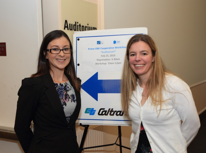 Jamie Silveira, President of Silveira, and Abbigail Brown, President of CPM Logistics