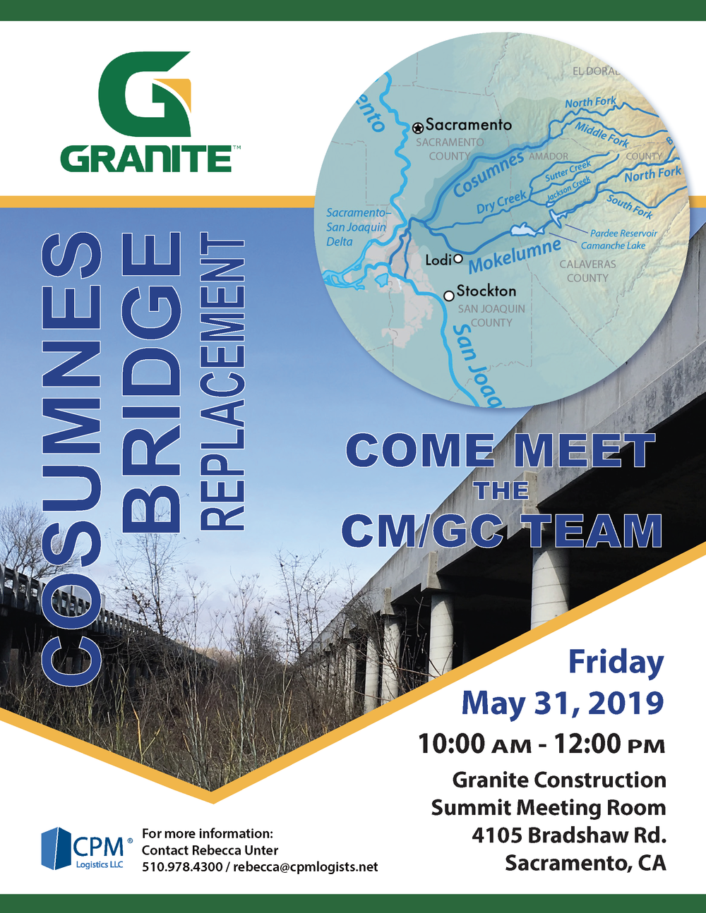 Granite: Cosumnes Bridge Replacement Project - Small Business Event