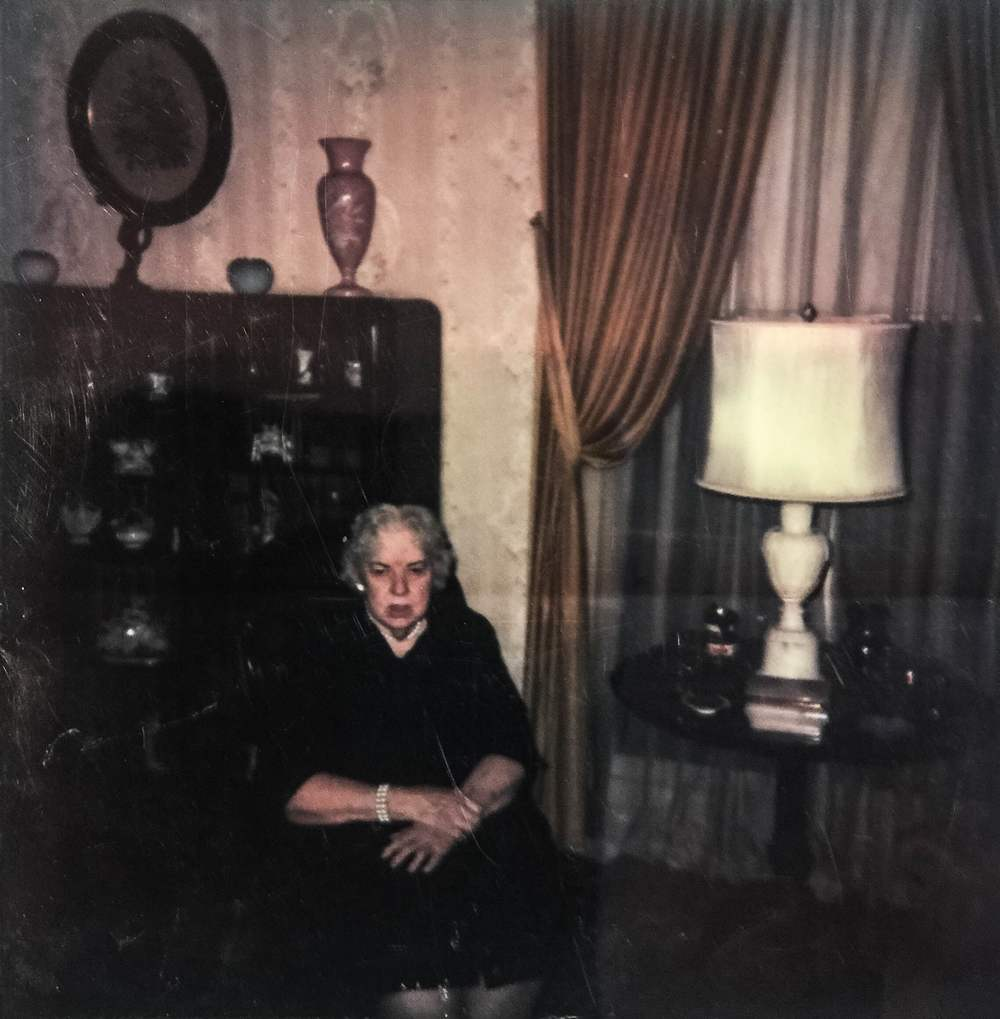 A very rare photograph of Evelyn Hazen in her later years.