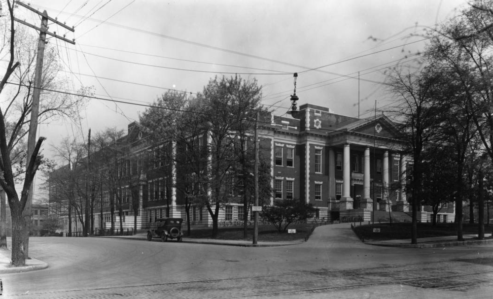Knoxville High School, 1921 McClung Collection