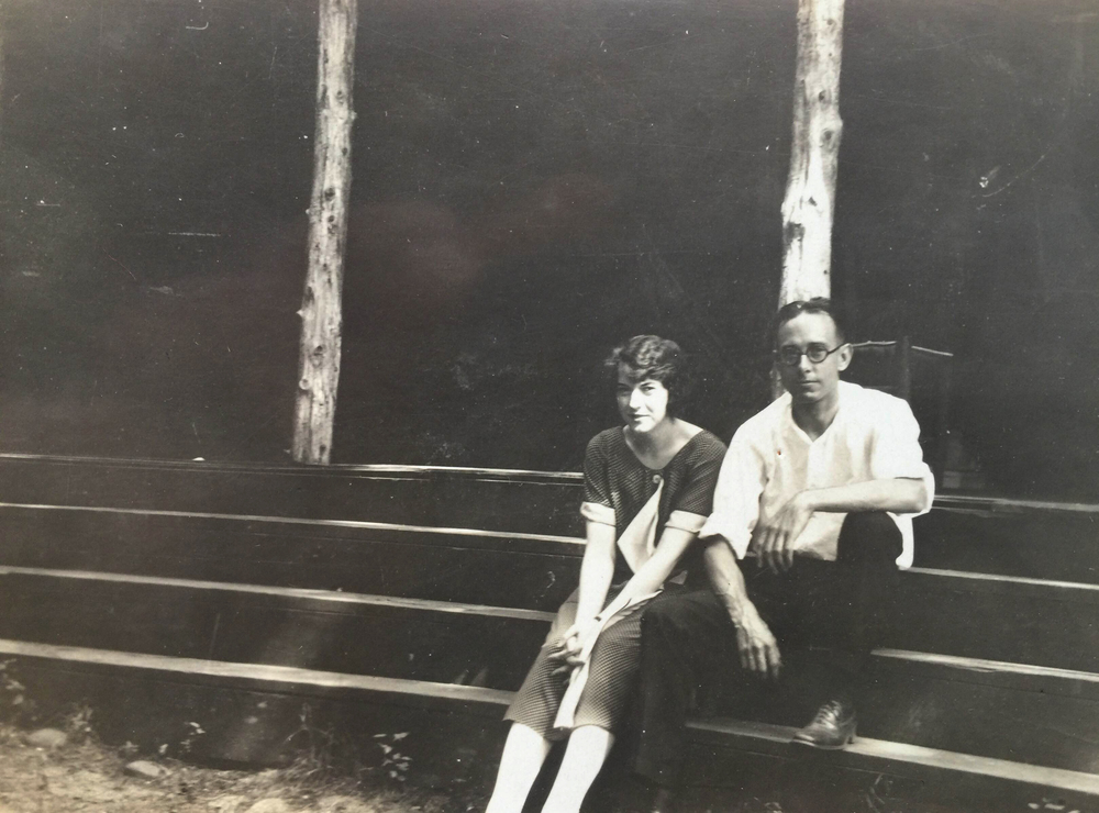 Evelyn Hazen & Ralph Scharringhaus, 1920s Mabry-Hazen Collection