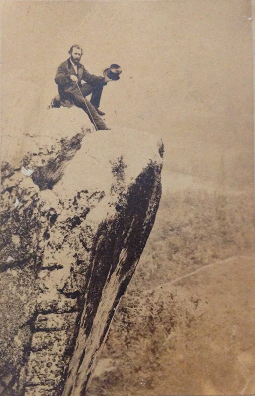 Joseph Mabry at Lookout Mountain ca. 1850