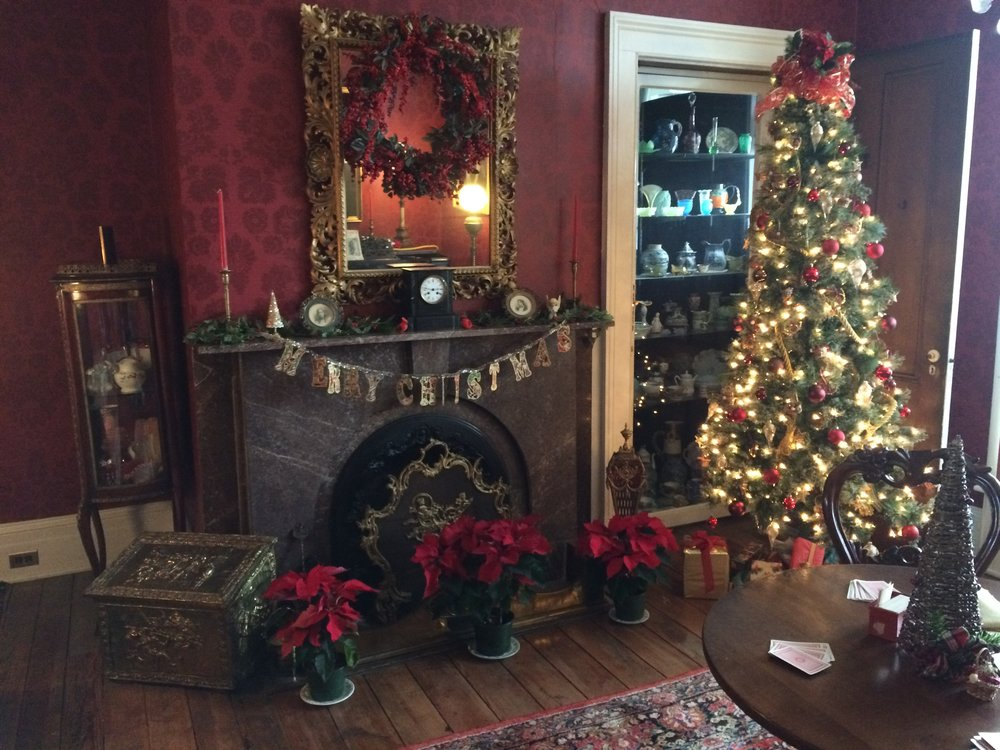 A peek into music parlors during our 2018 Christmas Tours.
