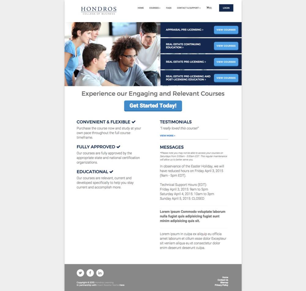 hondros student login Hondros Dynamic Portal — Justin Falck