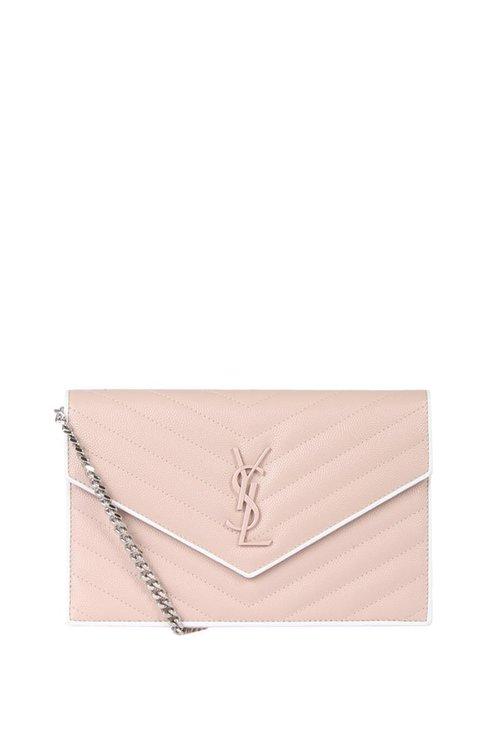 22945869fcc YSL monogram wallet on chain small — FashionVocal