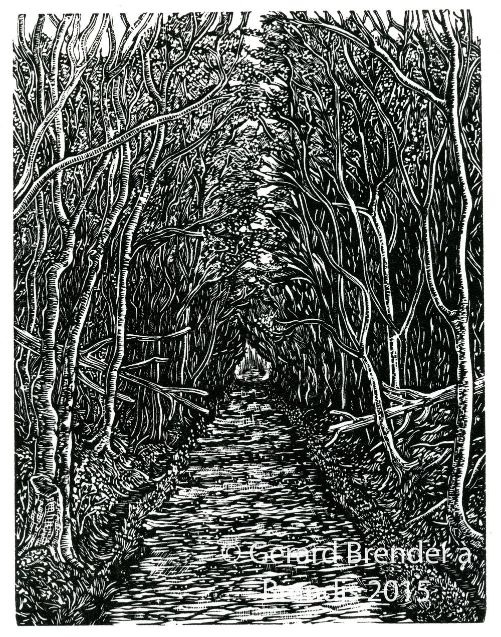 """""""Walking Home"""" by Gerard Brender  à  Brandis, 2015"""