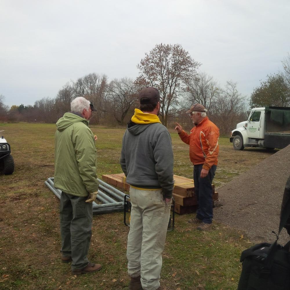 Doug, Joe Dwyer and Chris Lee.