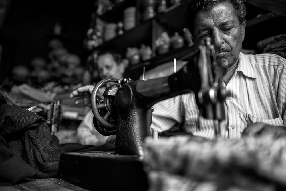 the claypot tailor from dharamsala