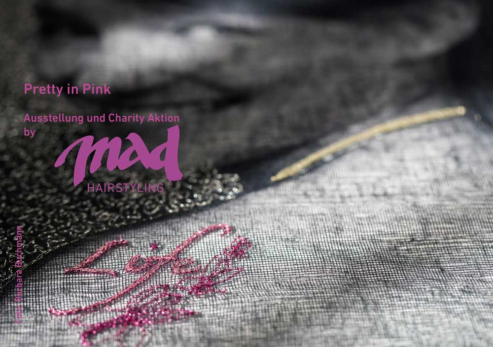 Gemeinschafts Ausstellung  Pretty in Pink  Ausstellung bei mad ART 15. Januar - 24 März 2018