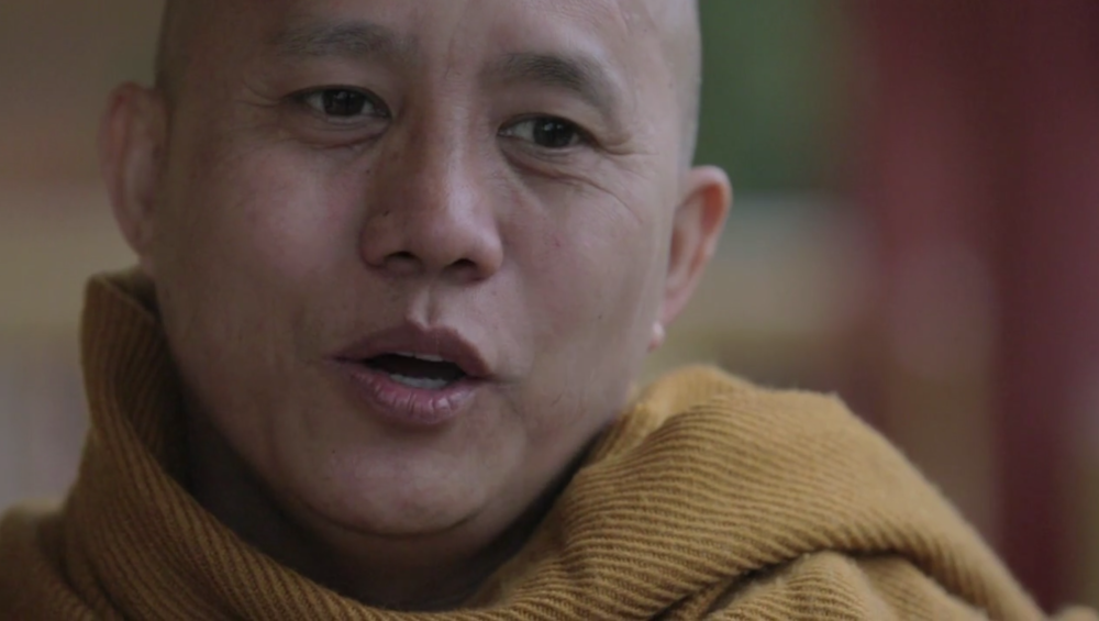 Wirathu, a Buddhist monk in Burma, has been leading the country's campaign against Muslims through his organization, 969.